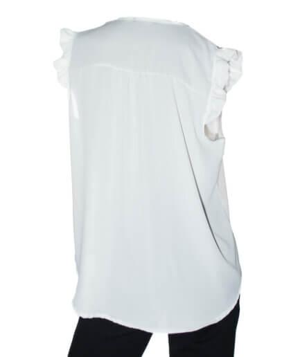 Γυναικεία Μπλούζα Με Φραμπαλά Ροζ - Cante.gr